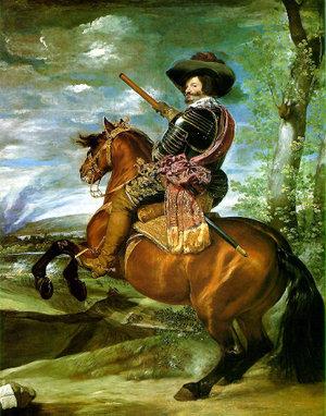 Óleo 1634 retrato de D.Velázquez