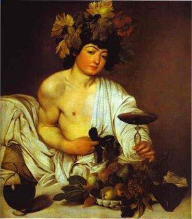 Óleo sobre lienzo de Caravaggio año 1585