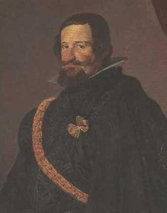 Retarto de Gaspar Guzmán y Pimentel (Conde-Duque de Olivares)