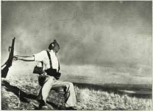 Muerte de un miliciano (Cerro Muriano-Córdoba 1936)