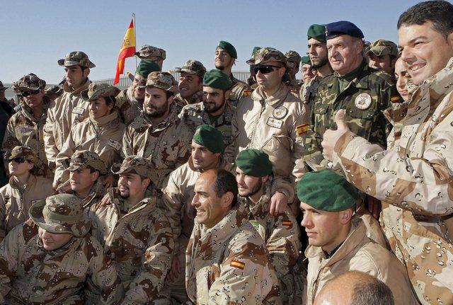 Tropas españolas en el extranjero (Afganistan)