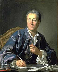 Retrato de D. Diderot pintado por L. Michel Van Loo