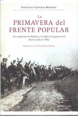 La Primavera del frente Popular de Fco. Espinosa