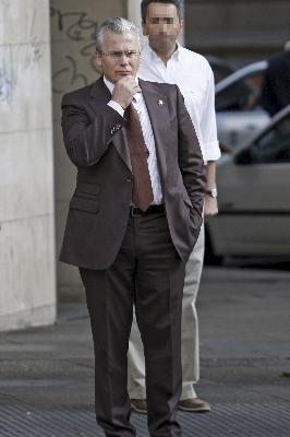 El juez Garzón en la Audiencia Nacional
