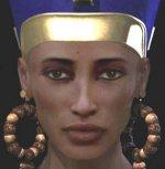 Reconstrucción informática del rostro de Nefertiti