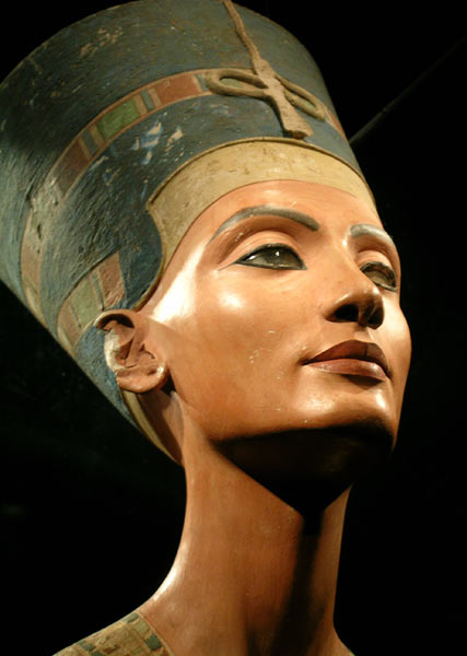 Busto de la reina Nefertiti