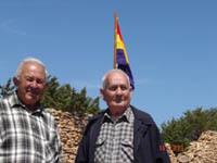 Testimonios vivos mal que pese algunos de la barbarie. Pere Gallet y Joan Colomar.