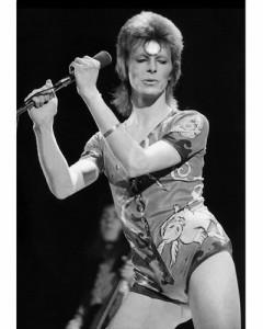 David Bowie pop singer