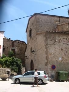 Iglesia del Coll de Nargó, donde José Mira Casals escribió su última carta.