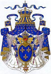 Escudo de la Casa de Borbón