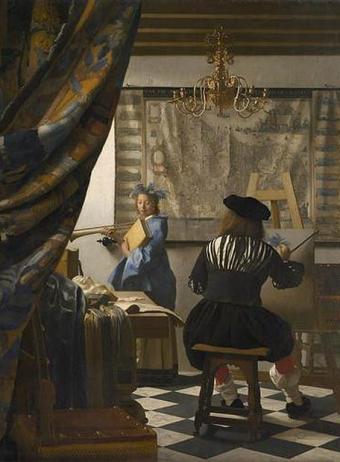 El cuadro 'El arte de la pintura' de Vermeer- KUNSTHISTORISCHES MUSEUM WIEN