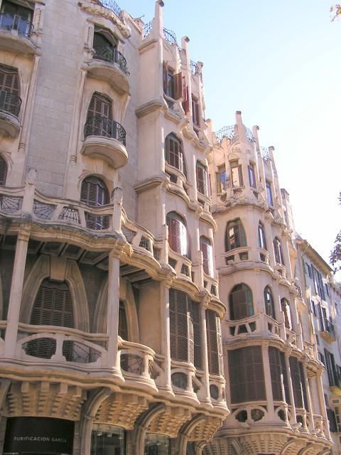 Arquitectura edificio de can casasayas palma de - Milar palma de mallorca ...