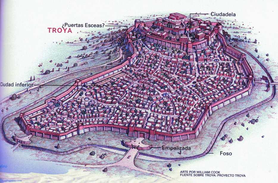 Resultado de imagen de ciudad de troya