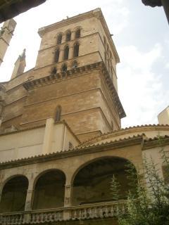 Campanario de la Catedral de Santa María de Palma. Antiguo minarete de la Mezquita