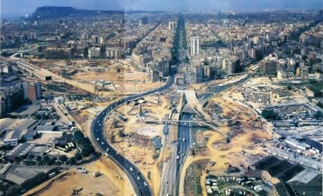 Barcelona en plena transformación para recibir las Olimpiadas