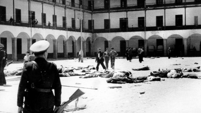 Cuartel de la Montaña (Madrid) Rebelión frustrada.